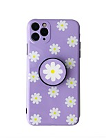cheap -Case For iPhone 7 plus 8 plus XR XS XS MAX X SE 11 11Pro 11ProMax Pattern Back Cover  Flower TPU with Stand