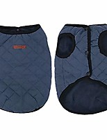 cheap -winter warm small dog jacket coats for puppy cats, soft fleece pet puppy clothes for small dogs, cute vest clothing for chihuahua yorkie poodles, blue