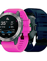 cheap -Watch Band for Fenix6s Garmin Sport Band Silicone Wrist Strap