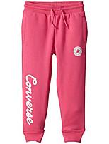 cheap -kids girl& #39;s fleece script logo joggers & #40;little kids& #41; mod pink 6x little kids