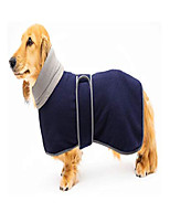 cheap -dog jacket, dog coat perfect for dachshunds, dog winter coat with padded fleece lining and high collar, dog snowsuit with adjustable bands -red