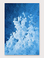 cheap -IARTS Hand Painted blue Oil Painting with Stretched Frame For Home Decoration With Stretched Frame
