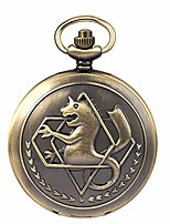 cheap -fullmetal alchemist pocket watch with chain box for cosplay accessories anime merch litbwat