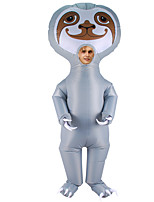 cheap -Sloth Cosplay Costume Inflatable Costume Funny Costume Kid's Adults' Men's Cosplay Halloween Halloween Festival / Holiday Fabric Gray Men's Women's Easy Carnival Costumes