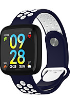 cheap -696 F15 Unisex Smartwatch Smart Wristbands Android iOS Bluetooth Heart Rate Monitor Blood Pressure Measurement Information Message Control Camera Control Pedometer Call Reminder Activity Tracker