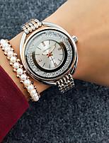 cheap -Women's Quartz Watches Quartz Stylish Fashion Adorable Silver Analog - Rose Gold White+Golden White+Gold One Year Battery Life