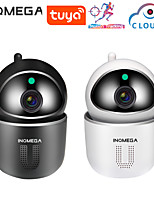 cheap -INQMEGA 1080P Cloud IP Camera Auto Tracking Surveillance MINI Camera Home Security Wireless WiFi Network CCTV Camera APP TUYA