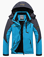 cheap -Women's Hiking Jacket Hiking Windbreaker Winter Outdoor Patchwork Thermal Warm Thermal Windproof Breathable Jacket Top Hunting Fishing Climbing Black / Purple / Red / Light Purple / Fuchsia