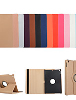 cheap -Case For Apple iPad  Mini 3 2 1 iPad Mini 4 iPad Mini 5 with Stand Flip Full Body Cases Solid Colored PU Leather TPU 360 Degree Rotating Protective Stand Cover