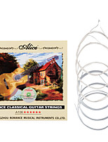 cheap -NAOMI Alice A106-H Clear Nylon Classical Guitar Strings Silver-Plated Copper Alloy Wound Strings 1st-6th Strings