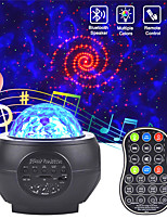 cheap -Led Starry Sky Projector Usb Speakers Night Light Romantic Colorful Starry Sky Projection Lamp With Remote Control Party Lamp