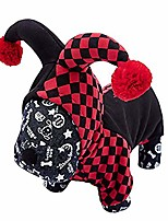 cheap -funny pet hooded clown costume for small dogs & cats halloween party cosplay