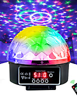 cheap -Stage Lamp Led Disco Light Laser 9 Colors 21 Modes DMX DJ Sound Party Light Christmas Projector Soundlights Led Disco Ball Light