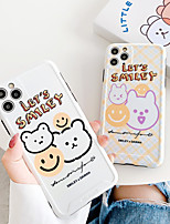 cheap -Case For Apple iPhone 7 7Plus iPhone 8 8Plus iPhone X iPhone XS XR XS max iPhone 11 11 Pro 11 Pro Max  SE Pattern Back Cover Animal Cartoon TPU