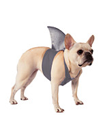 cheap -Dog Halloween Costumes Costume Shark Animals Party Halloween Dog Clothes Costume Polyester S M L