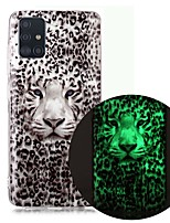 cheap -Case For Samsung Galaxy A51 5G A71 A10 A20E A30S A50 A40 A70 A70E A10S A20S A11 A01 Glow in the Dark Pattern Back Cover Animal TPU