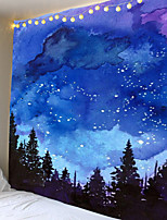 cheap -Colorful smudged star tapestries sun and moon wall tapestries tarot cards wall hangings psychedelic carpets wall hangings