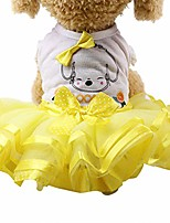 cheap -small dog girl dress,wakeu lace tutu vest apparel clothes for pet puppy