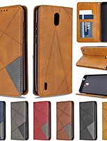 cheap -Case For Nokia 1.3 Nokia 2.3 Nokia 5.3 Wallet Card Holder with Stand Full Body Cases Diamond Dark Magnet PU Leather TPU for Nokia 3.2 Nokia 7.2 Nokia 2.2 Nokia 4.2 Nokia 1 Plus