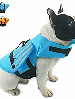 cheap -dog life jacket- preserver with adjustable belt, pet cute angel wing life jacket for short nose dog (pug,bulldog,poodle,bull terrier) (s, wing blue)