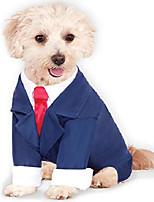 cheap -dog business suit pet costume
