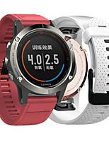 cheap -Watch Band for Fenix 5s Garmin Sport Band Silicone Wrist Strap