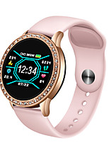 cheap -Smartwatch with 1.4-inch Full-round Screen for Women, Long Battery-life Bluetooth Fitness Tracker for IOS/Android Phones