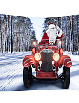 cheap -Christmas Weihnachten Santa Claus Wall Tapestry Art Decor Blanket Curtain Picnic Tablecloth Hanging Home Bedroom Living Room Dorm Decoration Car Snow Polyester