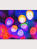 cheap -IARTS Hand Painted Neon Oil Painting with Stretched Frame For Home Decoration With Stretched Frame