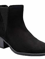 cheap -women& #39;s wide width ankle boots, classic mid heel back zipper cozy comfortable chelsea booties.& #40;190519 black 10ww& #41;
