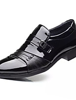 cheap -Men's Fall Casual Daily Loafers & Slip-Ons PU Non-slipping Black