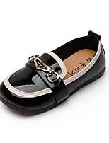 cheap -Girls' Flats Ballerina PU Little Kids(4-7ys) / Big Kids(7years +) Walking Shoes Black / Pink / Beige Summer
