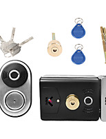 cheap -WAFU Smart Double Fingerprint Lock Stainless Steel Electric Lock Door Entry Intelligent Lock Low Power Reminder Smart Home Villa Office Access Control Security System(WF-014B)