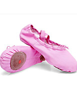 cheap -Women's Dance Shoes Ballet Shoes / Latin Shoes / Practice Trainning Dance Shoes Flat Flat Heel Pink / White / White / Black / Performance