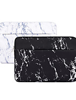 cheap -13.3 Inch Laptop / 14 Inch Laptop / 15.6 Inch Laptop Sleeve Polyester Marble for Women for Business Office for Colleages & Schools Waterpoof Shock Proof