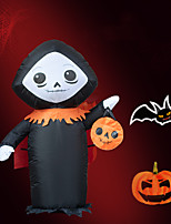 cheap -Halloween Party Toys Halloween Inflatables Ghost LED Lights with Tethers and Stakes Polyester Kid's Adults Trick or Treat Halloween Party Favors Supplies