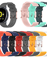 cheap -Watch Band for Vivomove / Vivoactive 3 / Forerunner 645 Garmin Sport Band / Classic Buckle Silicone Wrist Strap