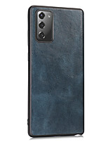 cheap -Case For Samsung Galaxy Galaxy A10 M10 A20 A30 A20E A40 A50 A50S A30S A70 A70S A80 M20 M30 A40S  Card Holder Shockproof Flip Full Body Cases Solid Colored PU Leather