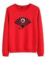 cheap -Women's Sweatshirt Pullover Sweatshirts Black White Pink Cartoon Cotton Cartoon Cute Car Sport Athleisure Pullover Long Sleeve Warm Soft Comfortable Everyday Use Causal Exercising General Use