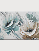cheap -Hand-Painted Abstract Flowers Painting Canvas Art  Painting Abstract Still Life Acrylic Painting Modern Art Textured Art  with Stretcher Ready to Hang With Stretched Frame