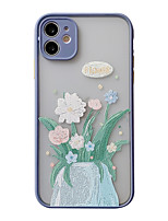 cheap -Case For iPhone 7 8 7 Plus 8 Plus X XS XR XS Max SE 11 11 Pro 11 Pro Max Pattern Back Cover Flower TPU