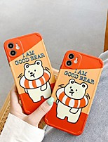 cheap -Case For Apple iPhone 7 7P iPhone 8 8P iPhone X iPhone XS XR XS max iPhone 11 11 Pro 11 Pro Max iPhone 12 Pattern Back Cover Word Phrase Cartoon TPU