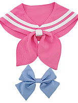 cheap -Dog Halloween Costumes Costume Bandanas & Hats Sailor Casual / Daily Cute Christmas Party Dog Clothes Breathable Pink Costume Polyster M L