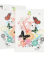 cheap -Case For Apple iPad Mini 1 2 3 4 5 Flip  Pattern Auto Sleep Wake Up Full Body Cases Butterfly Heart PU Leather TPU bear