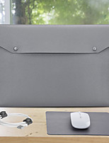 cheap -11.6 Inch Laptop / 12 Inch Laptop / 13.3 Inch Laptop Sleeve PU Leather / PU Leather / Polyurethane Leather Solid Color Unisex Waterpoof Shock Proof
