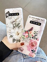 cheap -Case For Samsung Galaxy Note 8 9 10 10Plus J7 J7Prime J8 A5(2018) A8(2018) Ultra-thin Transparent Pattern Back Cover Animal Flower TPU