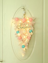 cheap -Christmas decoration macaron ball decoration pink upside down tree holiday home door wall hanging ornament decoration