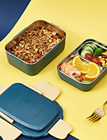 cheap -304 Stainless Steel Lunch Box Special Compartment For Office Workers With Lunch Portable Sealed