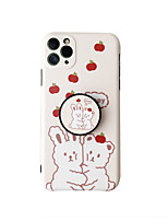 cheap -Case For Apple iPhone 7 plus 8 plus XR XS XS MAX X SE 11 11Pro 11ProMax Pattern Back Cover TPU with Stand Word Phrase