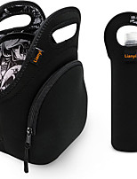 cheap -Lunch Bag Set For Women Men Women Kids Extra Thick 5mm Insulated Neoprene Keeps Your Lunch Box Delicious For Hours Washable Water Bottle Sleeve Extra Pocket